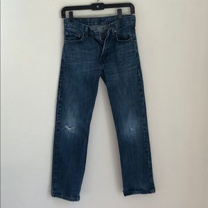 Levi's slightly distressed style jeans!